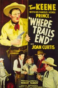 Where Trails End - 11 x 14 Movie Poster - Style A