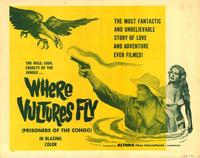 Where Vultures Fly - 27 x 40 Movie Poster - Style A