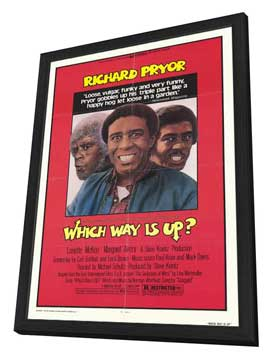 Which Way Is Up? - 27 x 40 Movie Poster - Style A - in Deluxe Wood Frame
