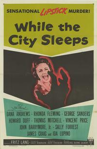 While the City Sleeps - 11 x 17 Movie Poster - Style A