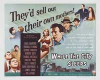 While the City Sleeps - 22 x 28 Movie Poster - Half Sheet Style A