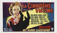 While the City Sleeps - 11 x 17 Movie Poster - Belgian Style A