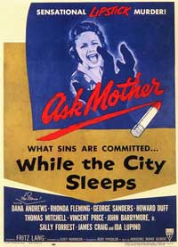 While the City Sleeps - 11 x 17 Movie Poster - Style B