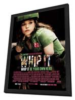 Whip It - 27 x 40 Movie Poster - Style A - in Deluxe Wood Frame