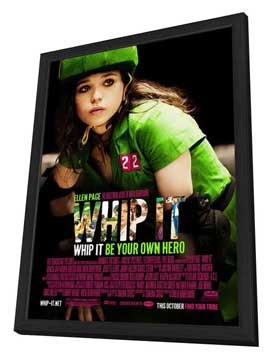 Whip It - 11 x 17 Movie Poster - Style A - in Deluxe Wood Frame
