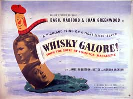 Whiskey Galore - 43 x 62 Movie Poster - UK Style A