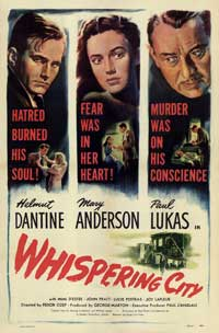Whispering City - 43 x 62 Movie Poster - Bus Shelter Style A