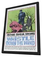 Whistle down the Wind - 11 x 17 Movie Poster - Style B - in Deluxe Wood Frame