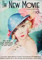Alice White - 11 x 17 The New Movie Magazine Cover 1930's