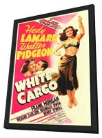 White Cargo - 11 x 17 Movie Poster - Style A - in Deluxe Wood Frame