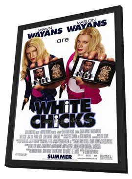 White Chicks - 27 x 40 Movie Poster - Style A - in Deluxe Wood Frame