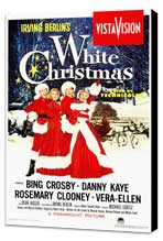 White Christmas - 27 x 40 Movie Poster - Style A - Museum Wrapped Canvas