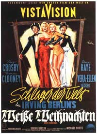 White Christmas - 11 x 17 Movie Poster - German Style C