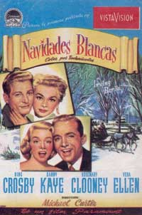 White Christmas - 11 x 17 Movie Poster - Spanish Style A