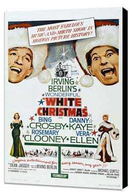 White Christmas - 11 x 17 Movie Poster - Style B - Museum Wrapped Canvas