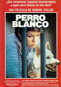 White Dog - 27 x 40 Movie Poster - Spanish Style A