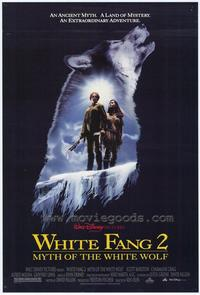 White Fang 2: Myth of the White Wolf - 27 x 40 Movie Poster - Style A