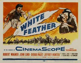 White Feather - 22 x 28 Movie Poster - Half Sheet Style A