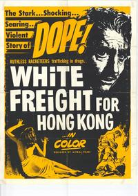 White Freight for Hong Kong - 27 x 40 Movie Poster - Style A