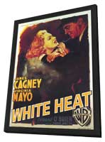 White Heat - 11 x 17 Movie Poster - Style C - in Deluxe Wood Frame