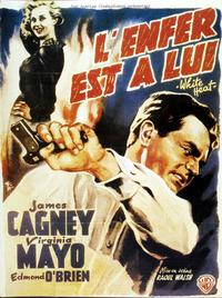 White Heat - 11 x 17 Movie Poster - French Style E