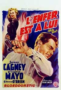 White Heat - 27 x 40 Movie Poster - Belgian Style B