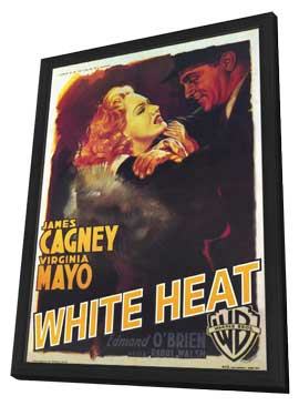 White Heat - 27 x 40 Movie Poster - Style B - in Deluxe Wood Frame