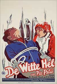 White Hell of Pitz Palu - 11 x 17 Movie Poster - German Style A