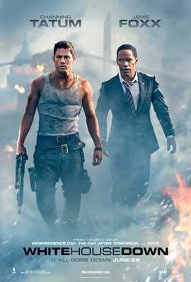 White House Down - 11 x 17 Movie Poster - Style D
