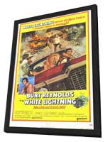 White Lightning - 11 x 17 Movie Poster - Style B - in Deluxe Wood Frame