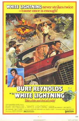 White Lightning - 11 x 17 Movie Poster - Style B