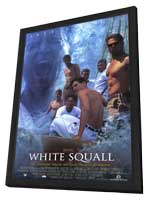 White Squall - 11 x 17 Movie Poster - Style B - in Deluxe Wood Frame