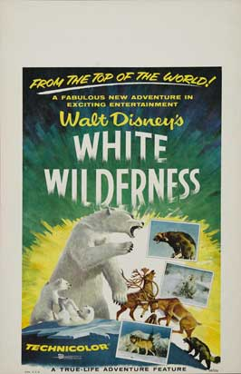 White Wilderness - 11 x 17 Movie Poster - Style A