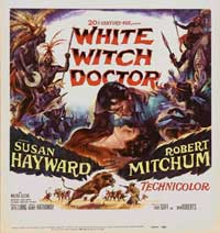 White Witch Doctor - 11 x 17 Movie Poster - Style A