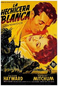 White Witch Doctor - 11 x 17 Movie Poster - Spanish Style A
