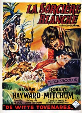 White Witch Doctor - 11 x 17 Movie Poster - Belgian Style A