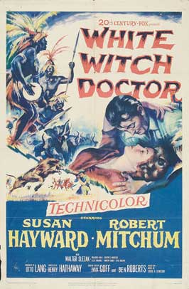White Witch Doctor - 11 x 17 Movie Poster - Style B