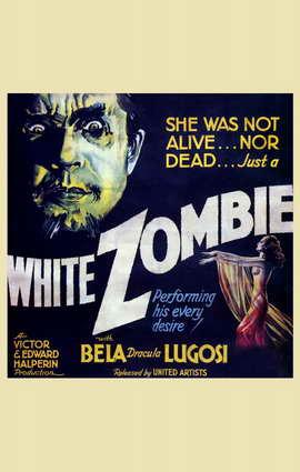White Zombie - 11 x 17 Movie Poster - Style B
