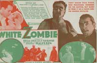White Zombie - 27 x 40 Movie Poster - Style B
