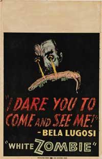 White Zombie - 11 x 17 Movie Poster - Style E