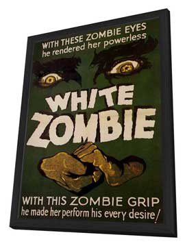 White Zombie - 11 x 17 Movie Poster - Style A - in Deluxe Wood Frame