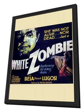 White Zombie - 30 x 30 Movie Poster - Style A - in Deluxe Wood Frame