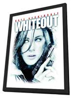 Whiteout - 27 x 40 Movie Poster - Style C - in Deluxe Wood Frame