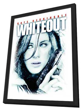 Whiteout - 11 x 17 Movie Poster - Style C - in Deluxe Wood Frame
