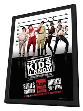 Whitest Kids U Know. The - 11 x 17 TV Poster - Style B - in Deluxe Wood Frame