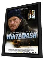 Whitewash - 11 x 17 Movie Poster - Style A - in Deluxe Wood Frame