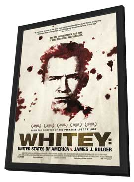 Whitey: United States of America vs James J Bulger - 11 x 17 Movie Poster - Style A - in Deluxe Wood Frame