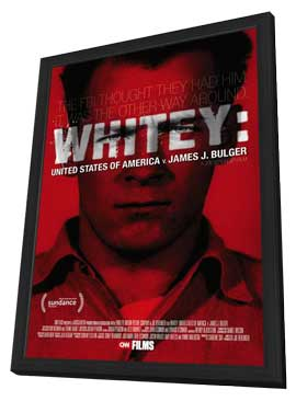 Whitey: United States of America vs James J Bulger - 11 x 17 Movie Poster - Style B - in Deluxe Wood Frame