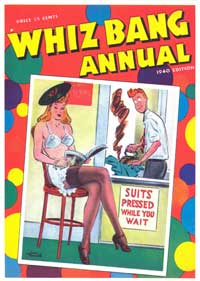 Whiz Bang Annual - 11 x 17 Retro Book Cover Poster