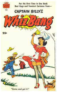Whiz Bang - 11 x 17 Retro Book Cover Poster